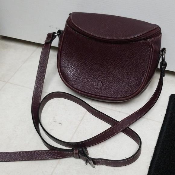 b83ccccbea7b2 Nobody Design Bags | Purple Leather Saddle Bag Zippered Nobody Purse ...